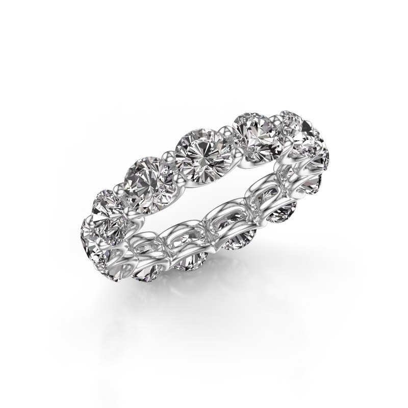 Ring Kirsten 5.0 585 witgoud diamant 6.50 crt