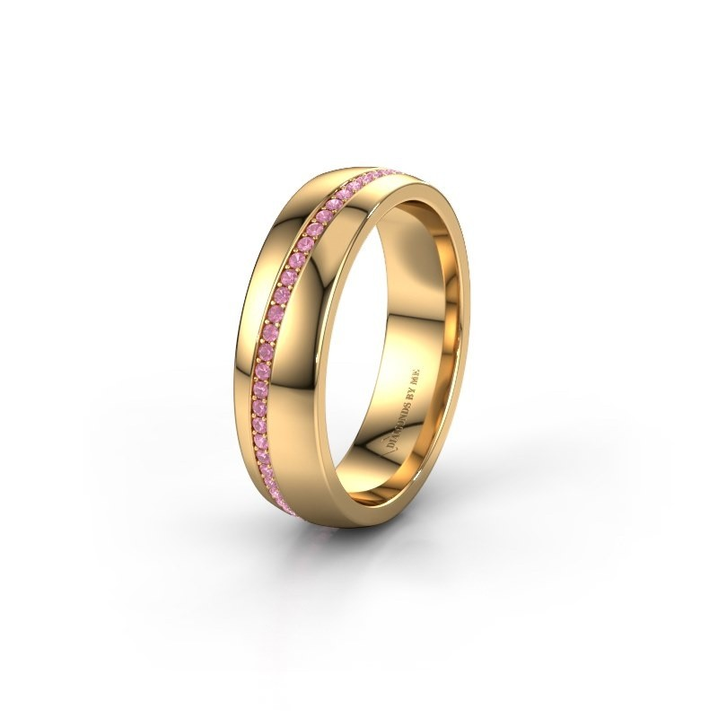 Ehering WH0109L25A 585 Gold Pink Saphir ±5x1.7 mm
