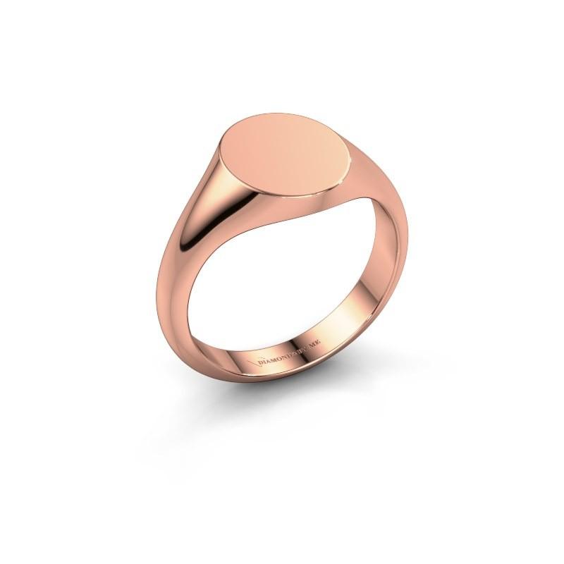 Signet ring Maude 1 375 rose gold