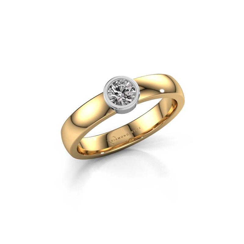 Ring Ise 1 585 gold diamond 0.25 crt