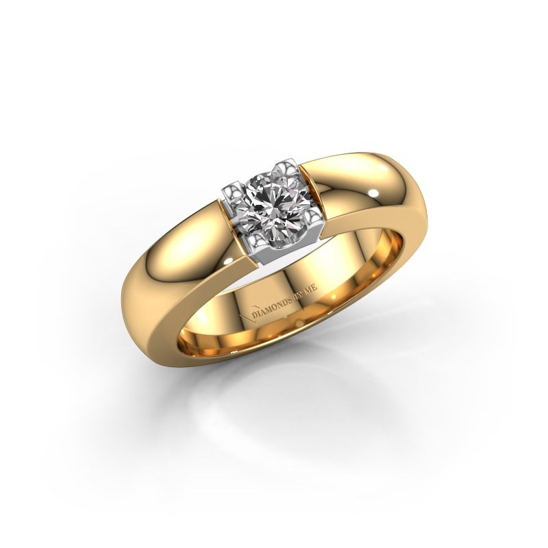 Engagement ring Rianne 1 585 gold diamond 0.40 crt