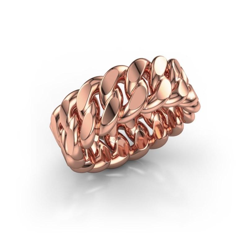 Ring Yvone 375 rosé goud