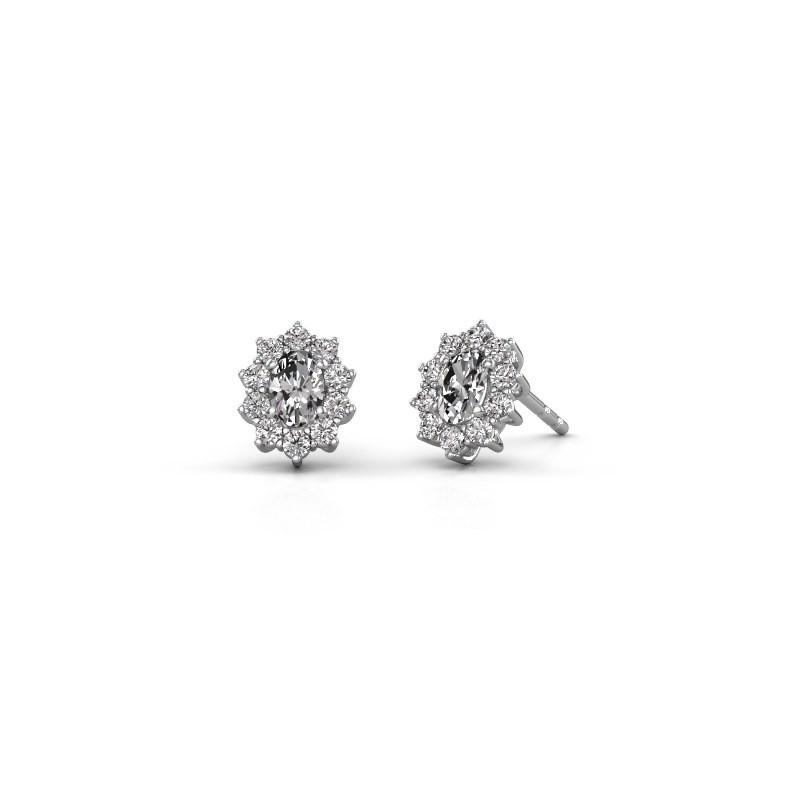 Ohrringe Leesa 585 Weißgold Lab-grown Diamant 1.60 crt
