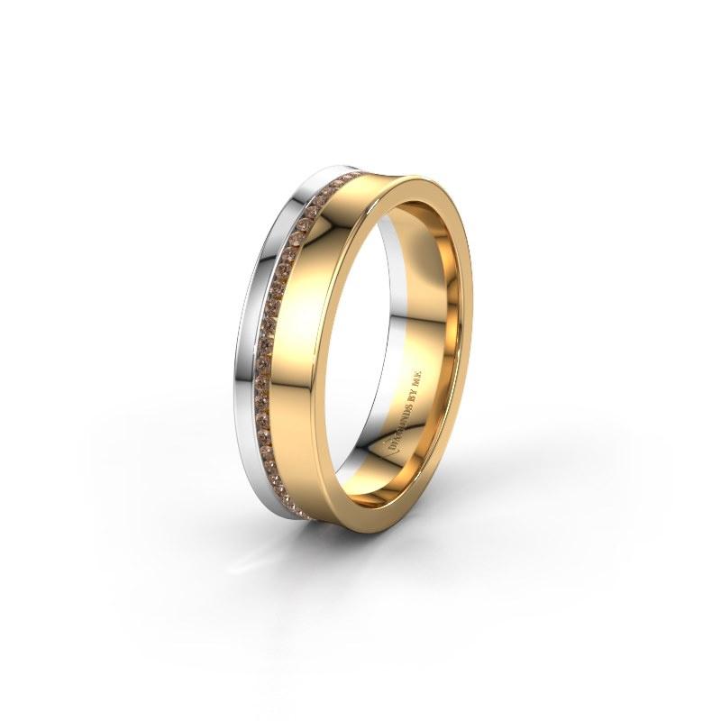 Ehering WH6090L55A 585 Gold Braun Diamant ±5x1.7 mm