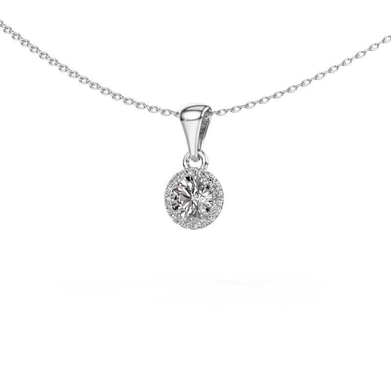 Hanger Seline rnd 925 zilver diamant 0.59 crt