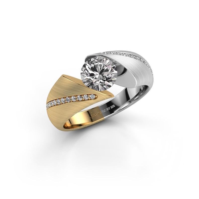 Verlovingsring Hojalien 2 585 goud diamant 1.12 crt