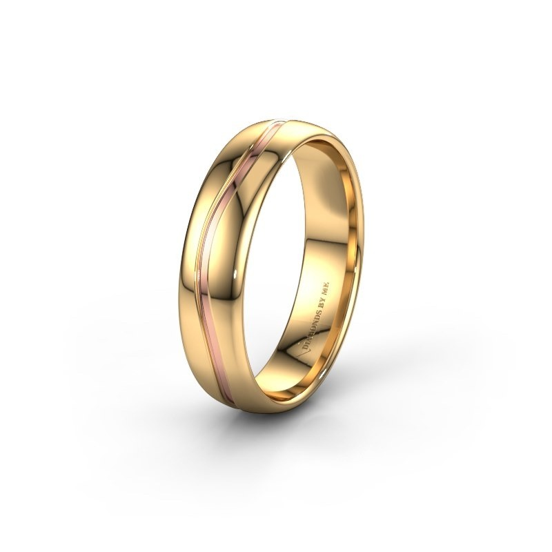 Wedding ring WH0905M35X 585 gold ±5x1.5 mm