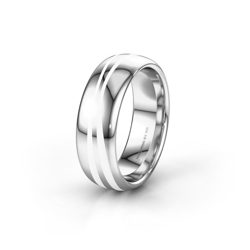 Weddings ring WH2226M36BP 925 silver ±7x2 mm
