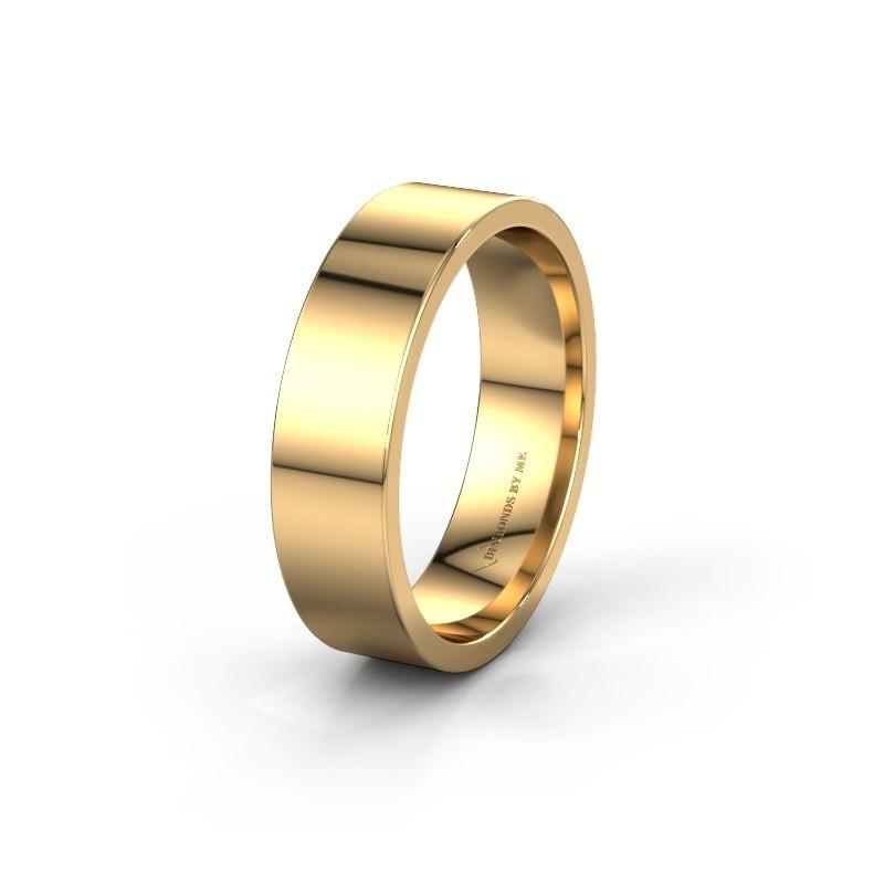 Trouwring WH0100M16AP 585 goud ±6x1.7 mm