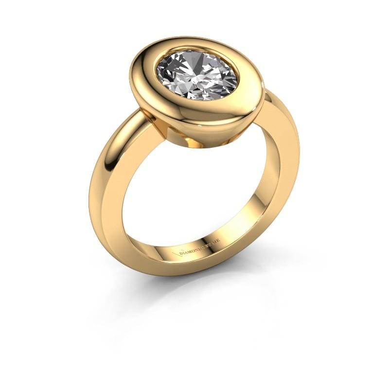 Ring Selene 1 585 goud diamant 1.80 crt