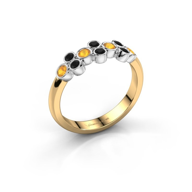 Ring Kayleigh 585 Gold Citrin 2.4 mm