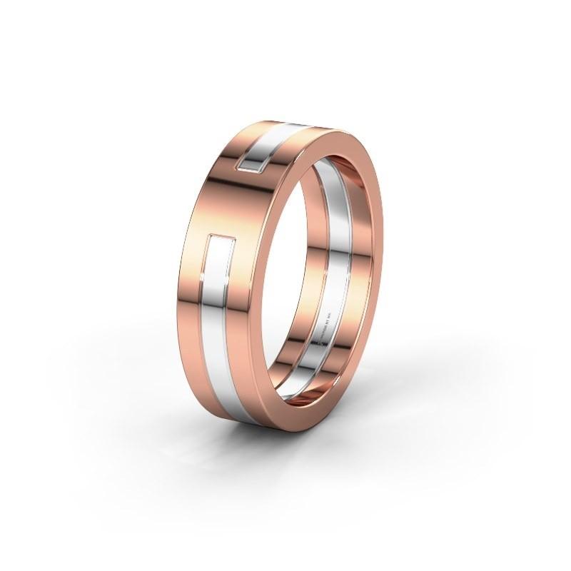 Wedding ring WMH0530M 585 rose gold ±6x2 mm