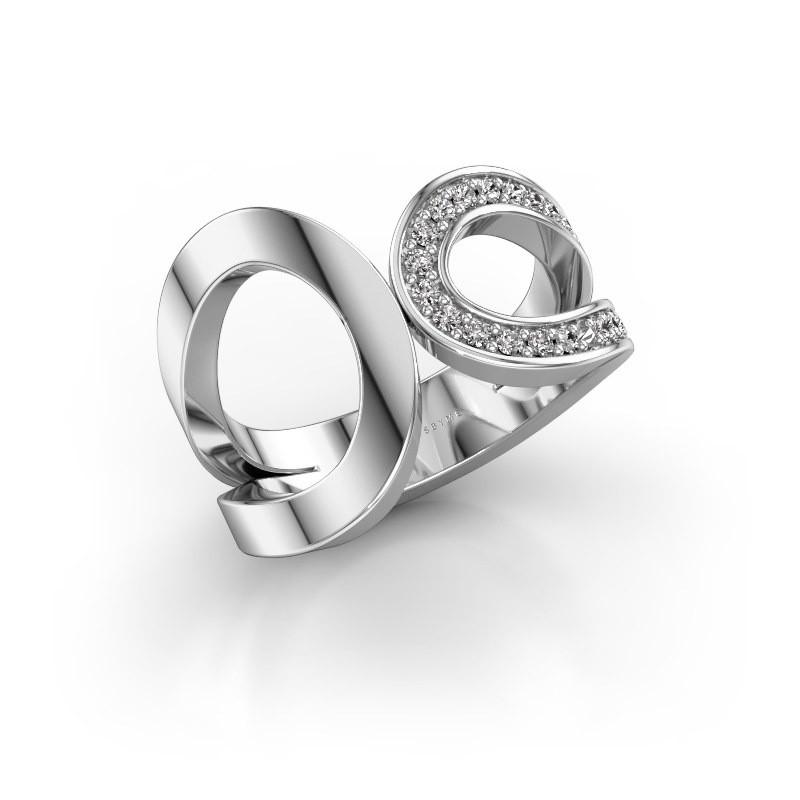 Ring Aniek 925 Silber Diamant 0.21 crt