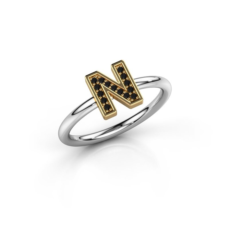 Ring Initial ring 110 585 witgoud