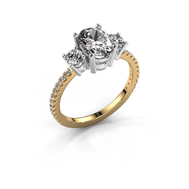 Verlobungsring Emelda 585 Gold Diamant 1.565 crt