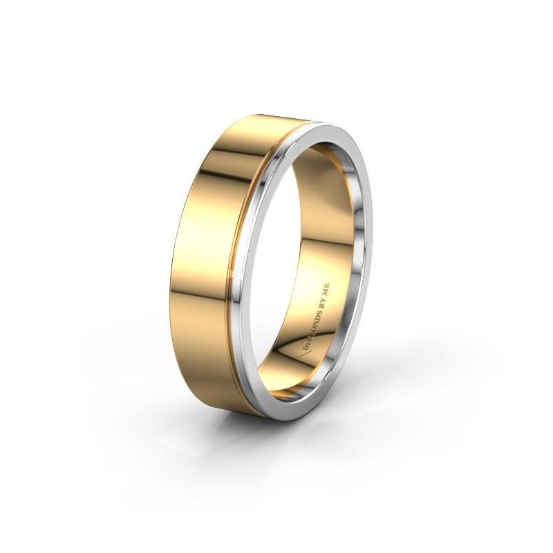 Wedding ring WH0500M16AP 585 gold ±6x1.7 mm