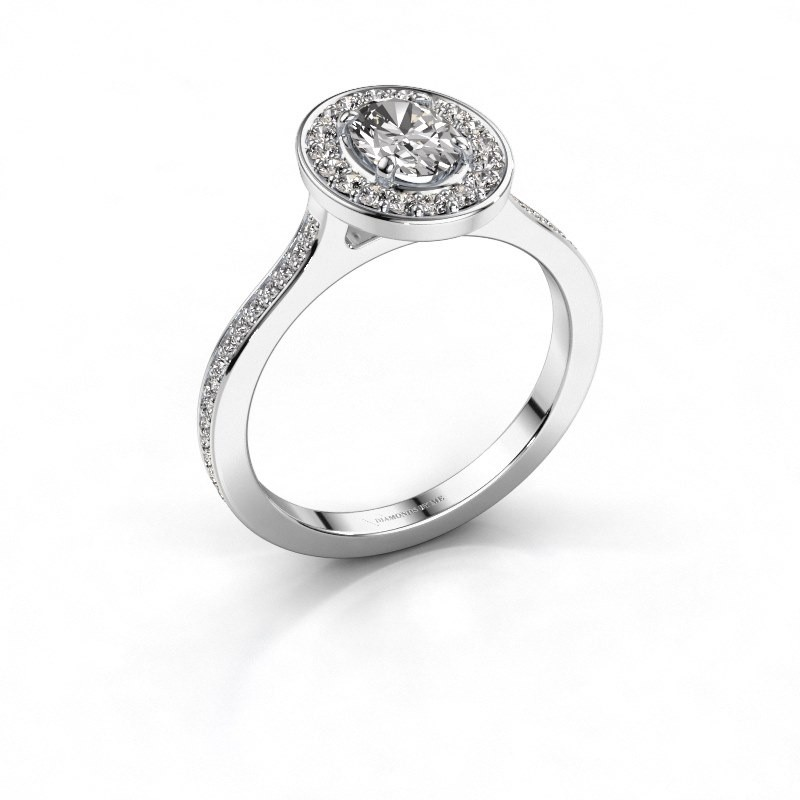 Ring Madelon 2 925 zilver lab-grown diamant 1.16 crt