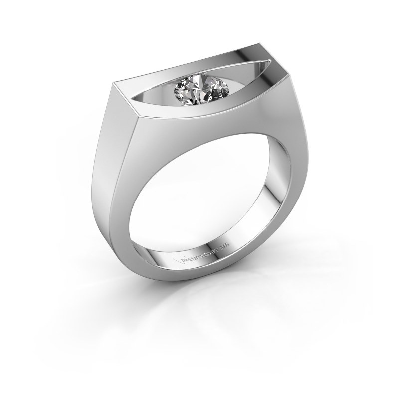 Ring Milou 950 platinum diamond 0.40 crt