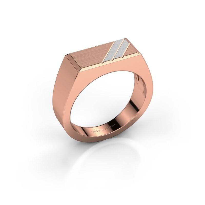 Men's ring Dree 4 585 rose gold