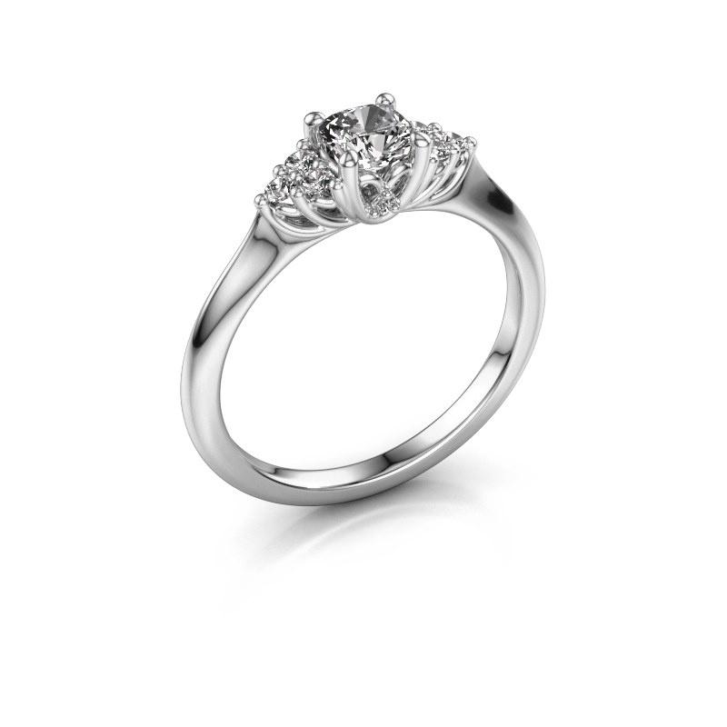 Verlovingsring Felipa CUS 925 zilver diamant 0.633 crt