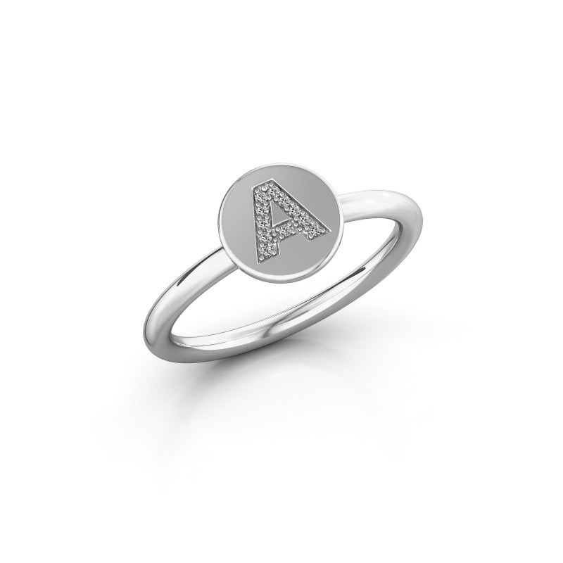 Ring Initial ring 050 925 zilver