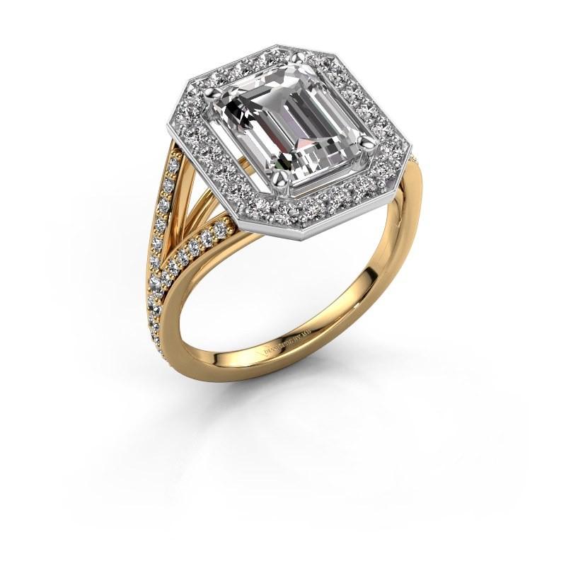 Verlobungsring Angelita EME 585 Gold Diamant 2.279 crt