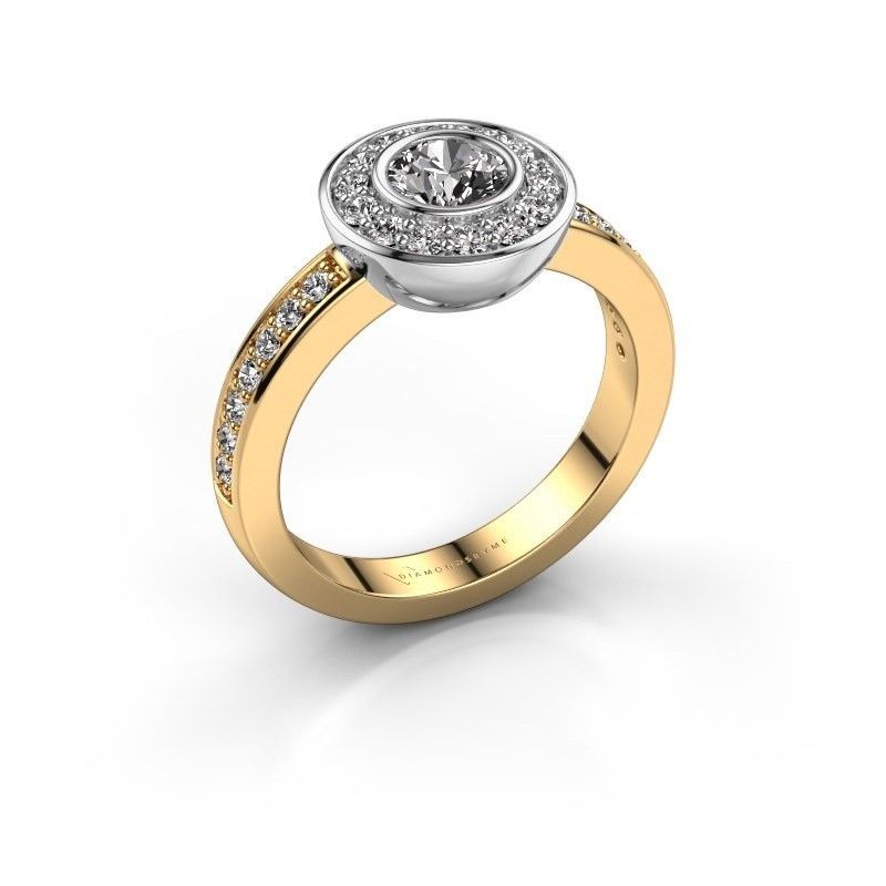 Ring Ivy 585 gold zirconia 5 mm