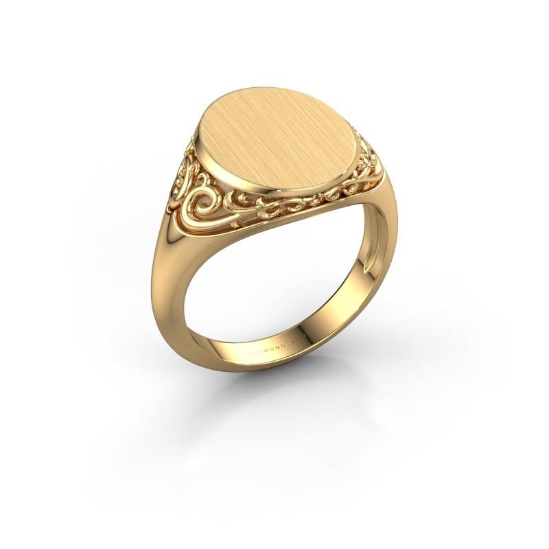 Zegelring Sheilah 3 375 goud