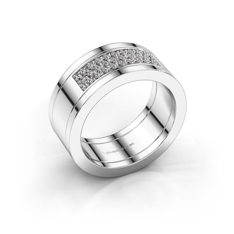 Ring Marita 3 925 zilver zirkonia 1.3 mm