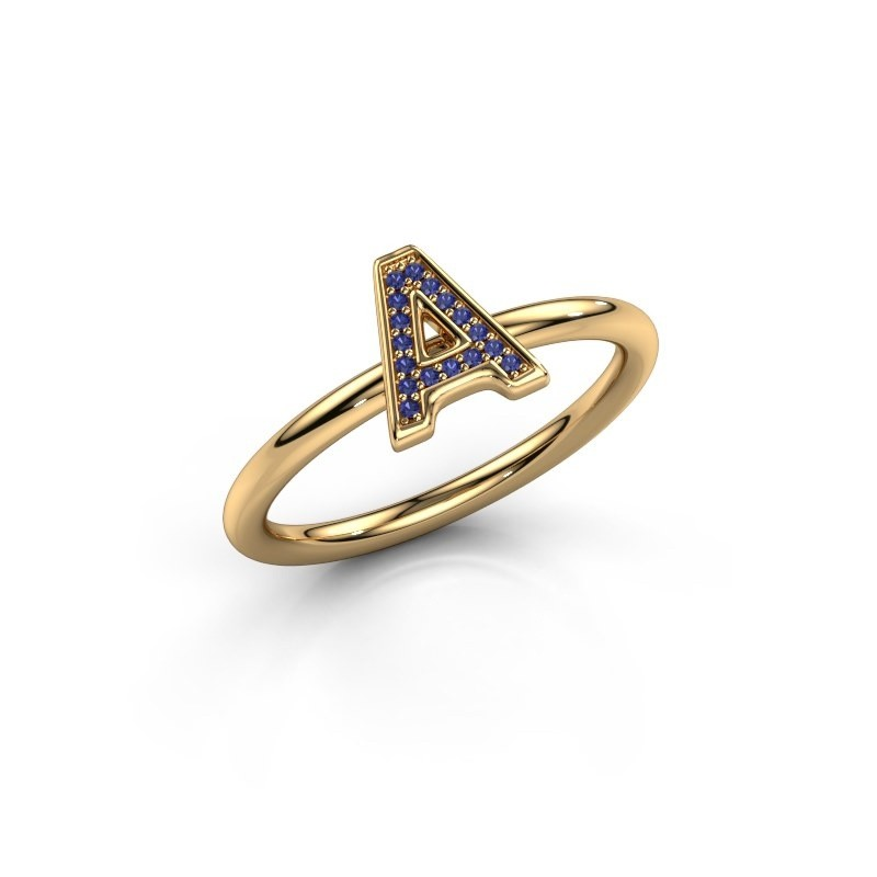 Bague Initial ring 070 585 or jaune