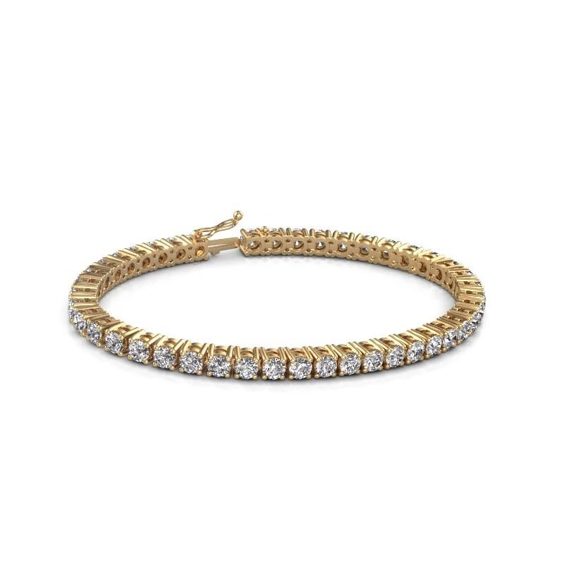 Tennis bracelet Karin 585 gold lab grown diamond 10.75 crt