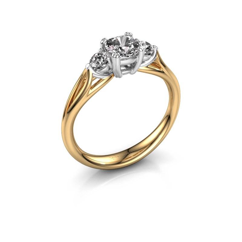 Verlovingsring Amie cus 585 goud lab-grown diamant 0.70 crt