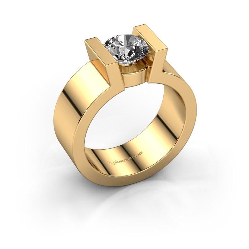 Verlovingsring Lieve 1 375 goud diamant 1.00 crt