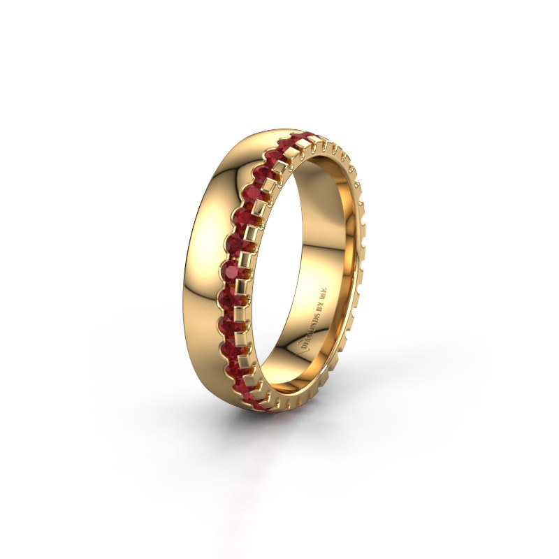 Ehering WH6122L25B 585 Gold Rubin ±5x2 mm