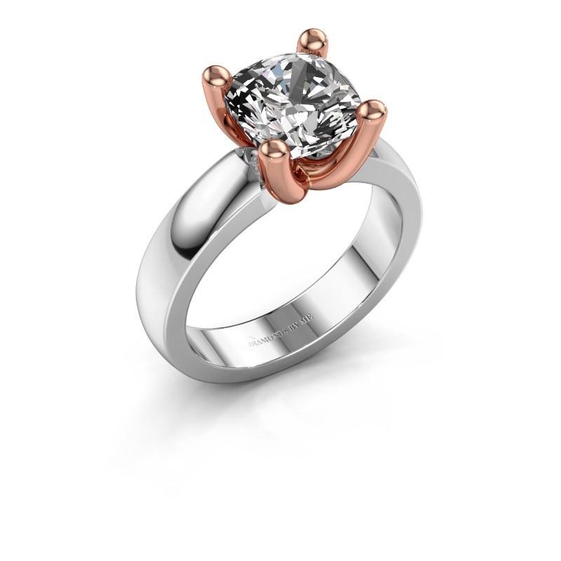 Ring Clelia CUS 585 witgoud diamant 3.60 crt