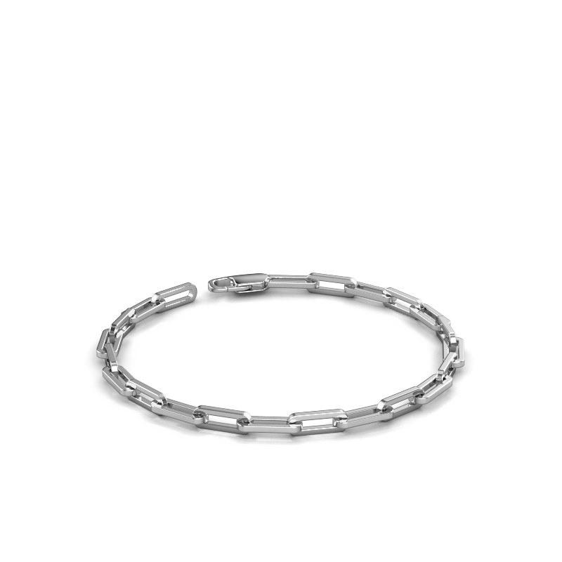 Armband CFE sqr 4.0 950 platina ±4 mm