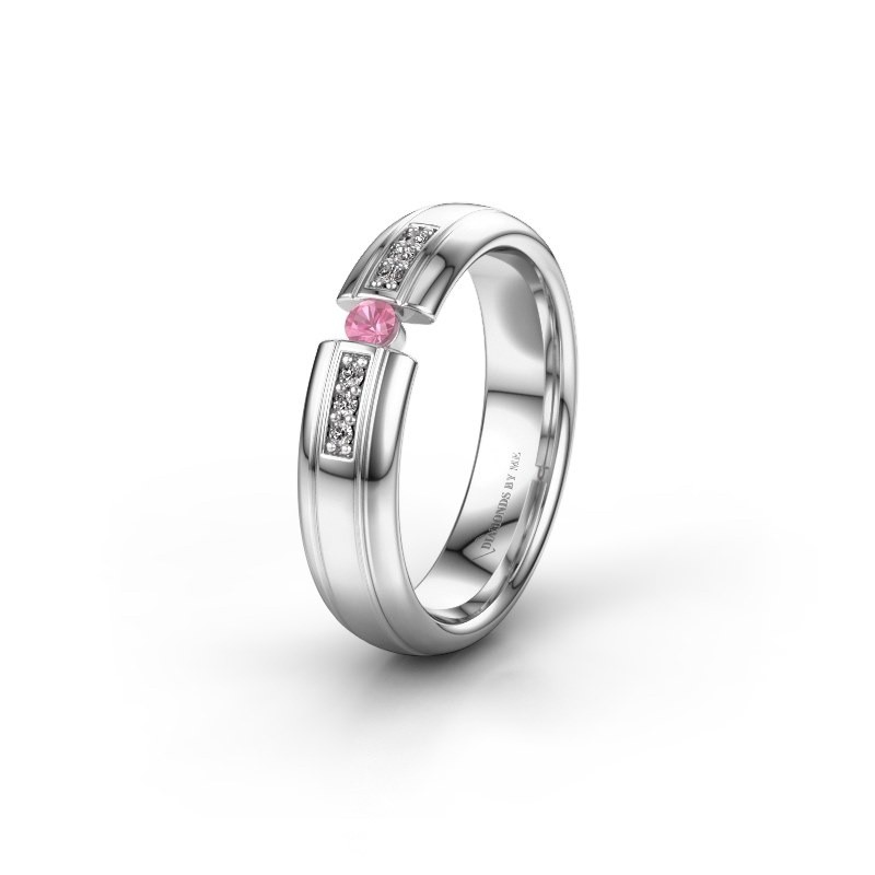 Alliance WH2128L26C 950 platine saphir rose ±5x2 mm