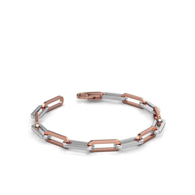Armband CFE sqr 6.0 585 Weißgold ±6 mm