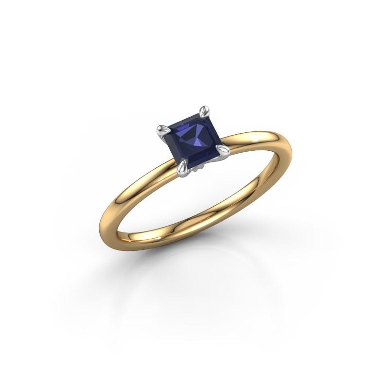 Verlobungsring Crystal ASS 1 585 Gold Saphir 5 mm