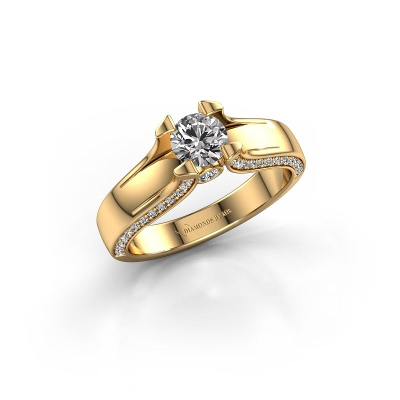 Verlovingsring Jeanne 1 375 goud lab-grown diamant 0.82 crt