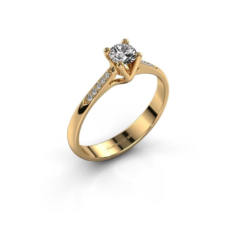 Verlobungsring{ucf Janna 2 375 Gold Diamant 0.30 crt