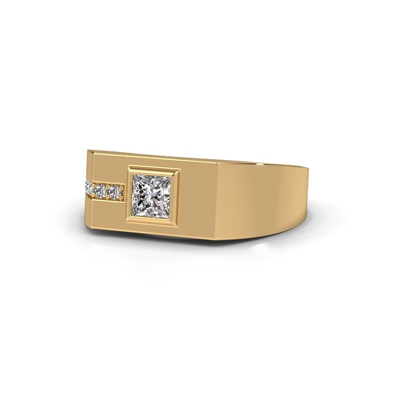 Men's ring Robertus 1 585 gold diamond 0 496 crt