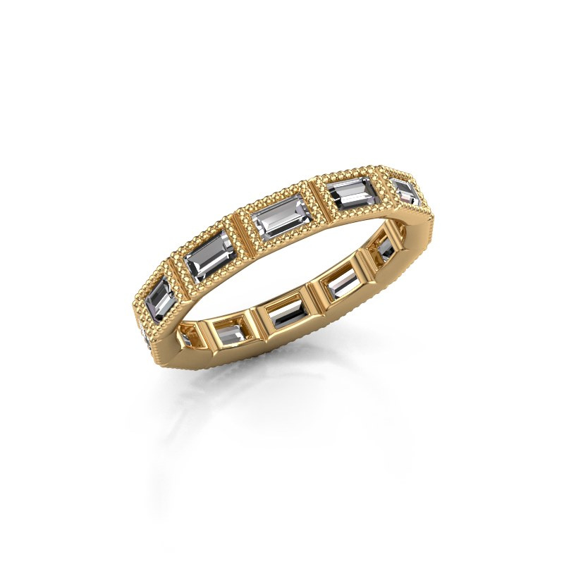 Ring Martina 375 goud diamant 1.56 crt