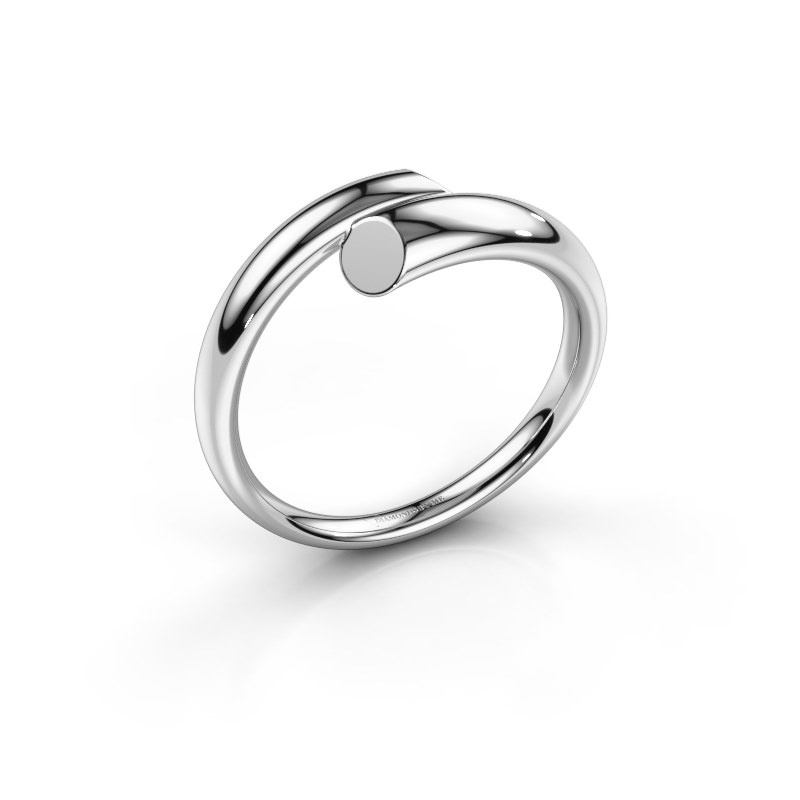 Bague Mare 585 or blanc