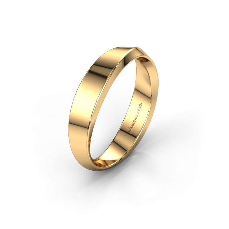 Trouwring WH2222L14B 585 goud ±4x2 mm