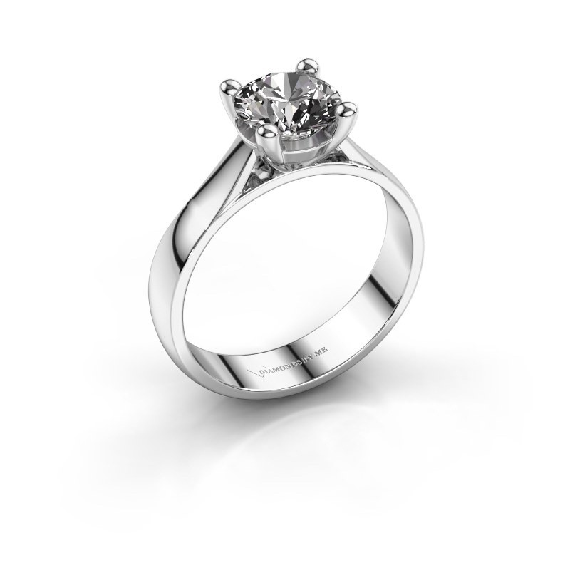 Engagement ring Sam 950 platinum diamond 1.00 crt