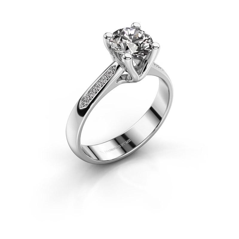 Promise ring Janna 2 925 silver diamond 1.00 crt