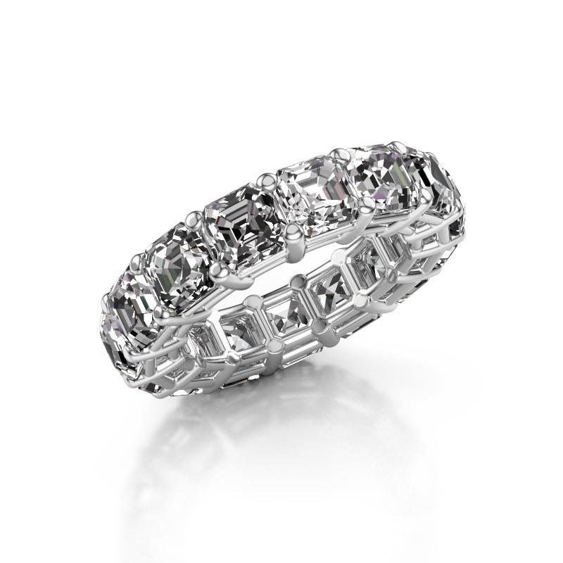 Ring Heddy ASH 5.0 585 witgoud diamant 11.25 crt
