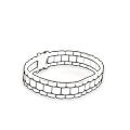 Rolex style bracelets